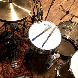 "Dennis Leeflang's recording setup on ""In These Quiet Moments""!!"